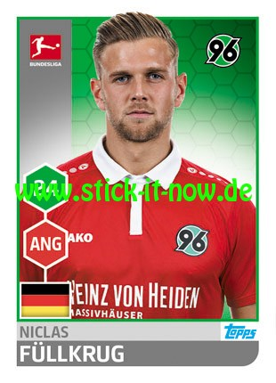 "Topps Fußball Bundesliga 17/18 ""Sticker"" (2018) - Nr. 123"