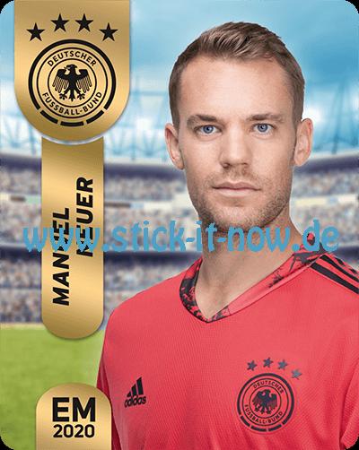 """Ferrero Team Sticker EM 2020 - """"Portrait"""" Nr. 1"""