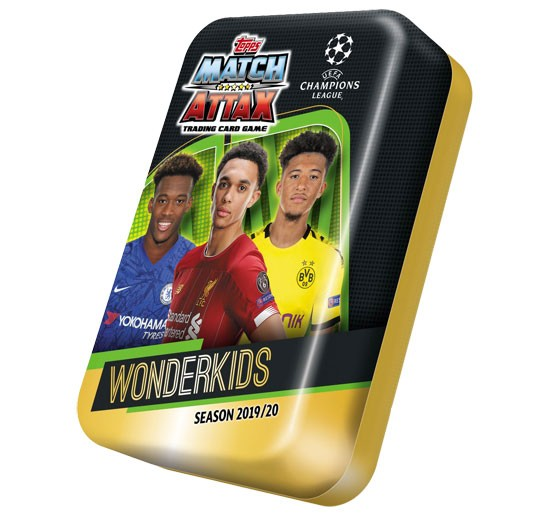 Match Attax Champions League 2019/20 - Sammeldose ( Wonderkids )