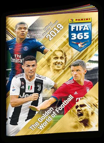 "Panini FIFA 365 ""The golden World of Football"" Sticker (2019) - Sammelalbum"