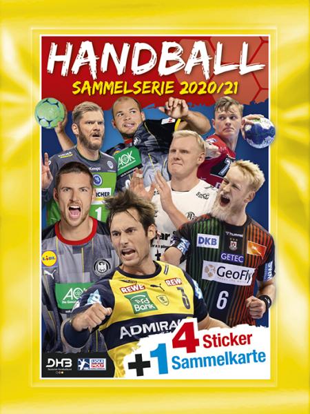 LIQUI MOLY Handball Bundesliga 20/21 - Stickertüte