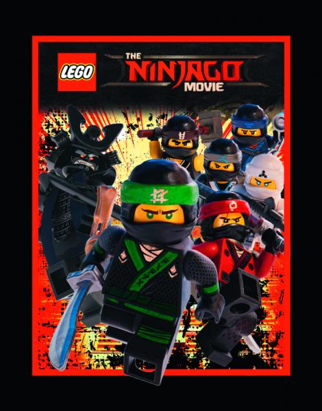 LEGO Ninjago Movie Sticker (2017) - Stickertüte