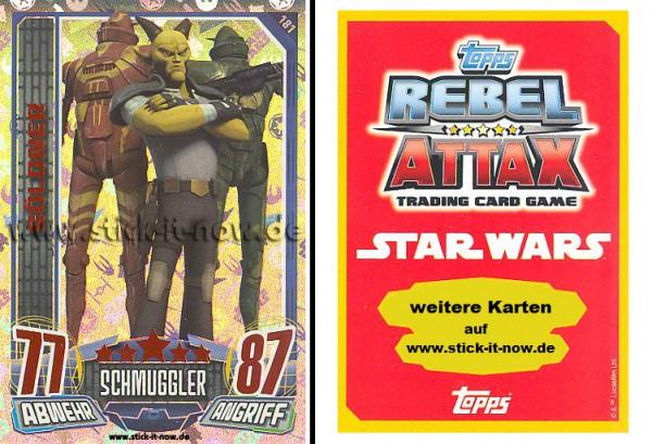 Rebel Attax - Serie 1 (2015) - SÖLDNER - Nr. 181 ( Holo-Foil Karte )