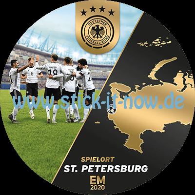 """Ferrero Team Sticker EM 2020 - """"Spielort"""" Nr. 9 (St. Petersburg)"""