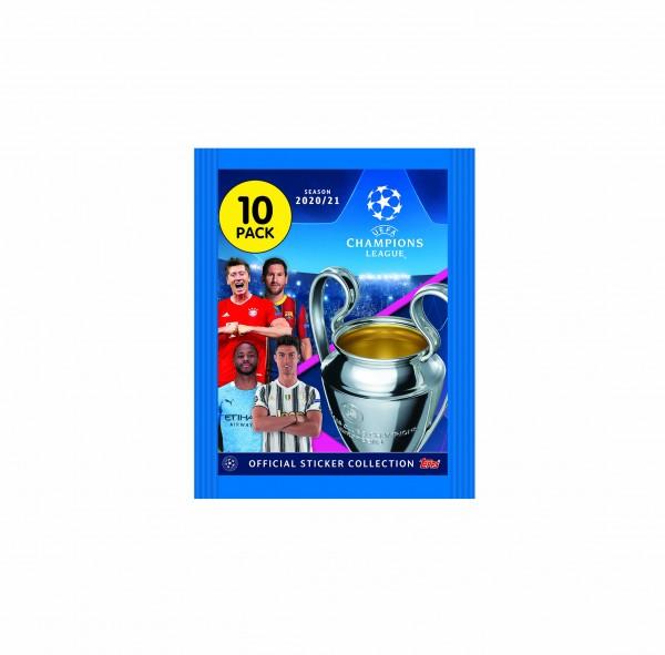 """Champions League 2020/2021 """"Sticker"""" - Stickertüte ( 10 Sticker )"""