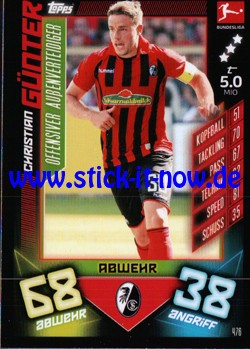 "Topps Match Attax Bundesliga 2019/20 ""Action"" - Nr. 476"