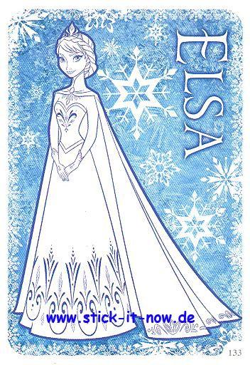 Die Eiskönigin ( Disney Frozen ) - Activity Cards - Nr. 133 (Karte zum Ausmalen)