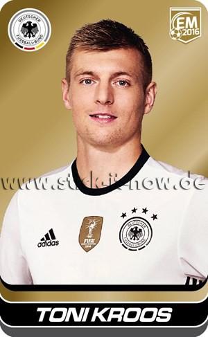 DFB Team Cards EM 2016 - Toni Kroos (GOLD)