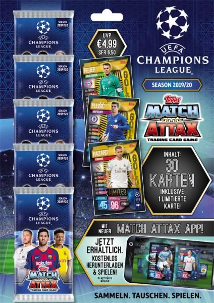 Match Attax Champions League 2019/20 - Multipack