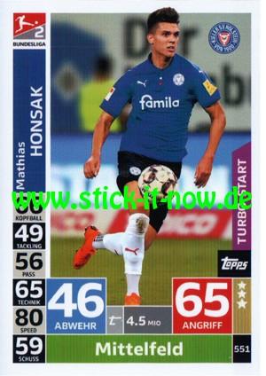 "Topps Match Attax Bundesliga 18/19 ""Action"" - Nr. 551 (Turbo-Start)"