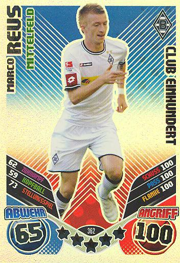 Marko Reus - Club 100 - Match Attax 11/12