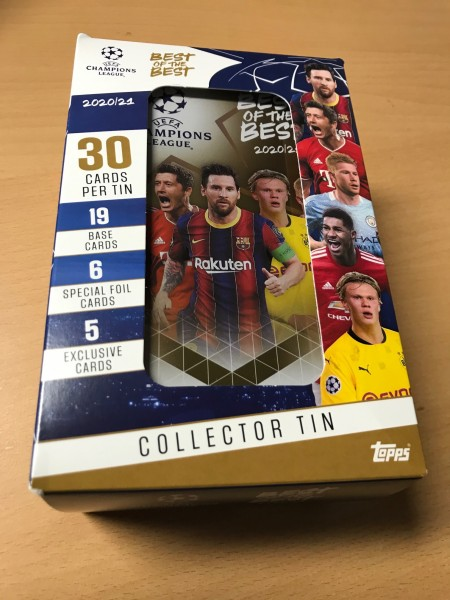 """Topps """"Best of the Best"""" 2020/2021 - Tin Dose"""