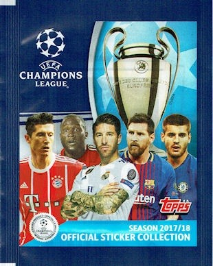 Champions League Sticker 2017/2018 - Stickertüte