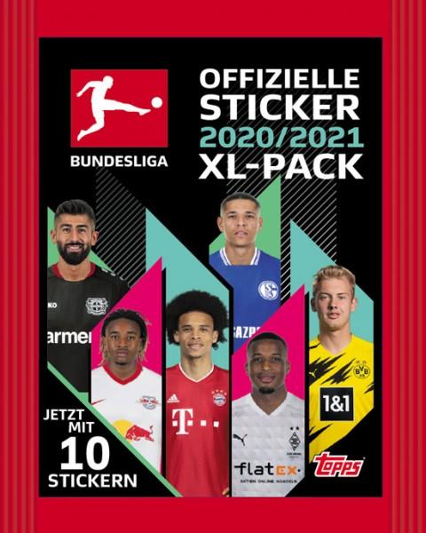 """Topps Fußball Bundesliga 2020/21 """"Sticker"""" (2020) - Stickertüte"""