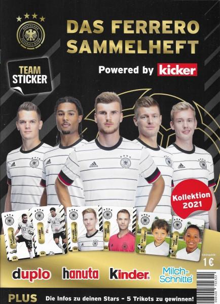 Ferrero Team Sticker EM 2020 (2021) - Stickeralbum