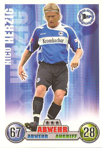 Nico Herzig - Match Attax 08/09 - Arm. Bielefeld