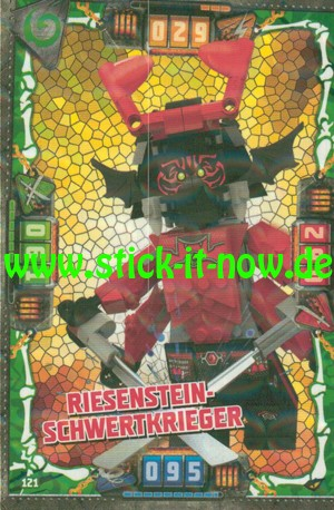 Lego Ninjago Trading Cards - SERIE 4 (2019) - Nr. 121 ( Kristall )