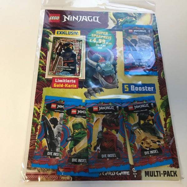 Lego Ninjago Trading Cards - SERIE 6 (2021) - Multipack 1a ( LE 6 )