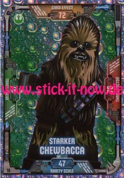 Lego Star Wars Trading Card Collection (2018) - Nr. 15 (Glitzer)