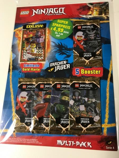 Lego Ninjago Trading Cards - SERIE 4 (2019) - Multipack 2 ( LE18 )