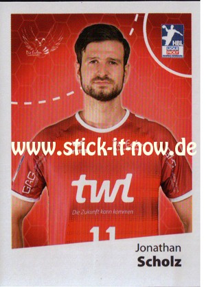 LIQUE MOLY Handball Bundesliga Sticker 19/20 - Nr. 38