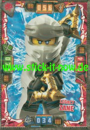 Lego Ninjago Trading Cards - SERIE 4 (2019) - Nr. 31 ( Kristall )