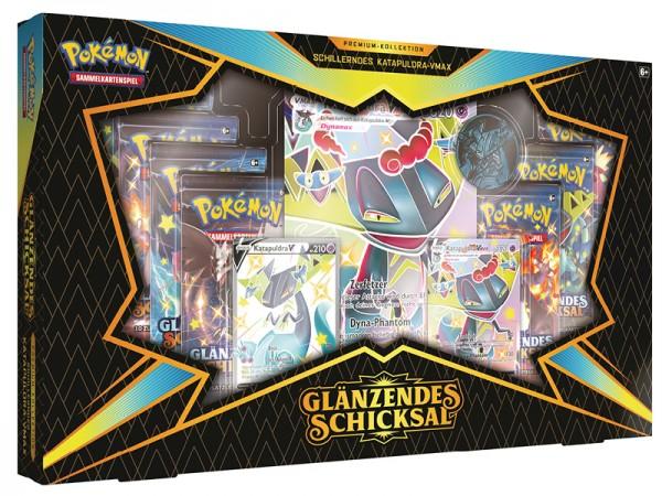 """Pokémon Glänzendes Schicksal - Premium-Kollektion """"Katapuldra Vmax"""""""