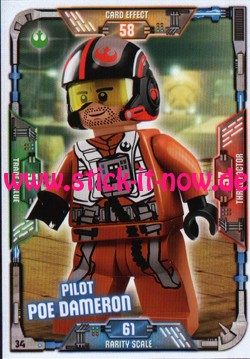 Lego Star Wars Trading Card Collection (2018) - Nr. 34