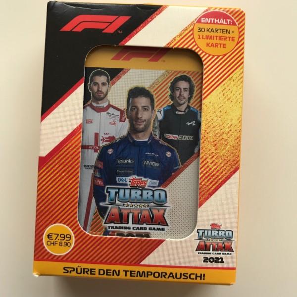 "Turbo Attax ""Formel 1"" (2021) - Mini-Tin A (Riccardo)"