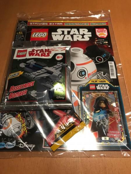 Lego Star Wars Magazin Nr. 44 (mit Lego Figur, Booster und LE18)