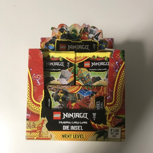 "Lego Ninjago Trading Cards - SERIE 6 ""Next Level"" (2021) - Display"