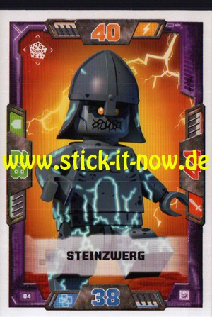 Lego Nexo Knights Trading Cards - Serie 2 (2017) - Nr. 84
