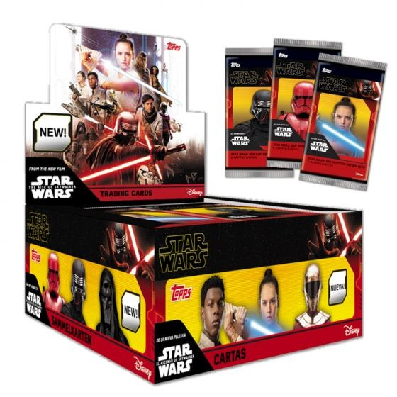 "Star Wars - The Rise of Skywalker ""Teil 2"" (2019) - Display ( 30 Booster )"