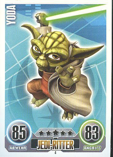 Force Attax - YODA - Jedi-Ritter - Die Republik - SERIE 1 (2010)