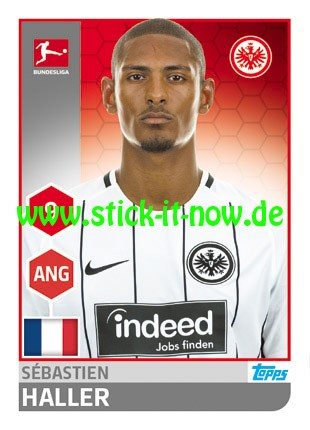"Topps Fußball Bundesliga 17/18 ""Sticker"" (2018) - Nr. 78"