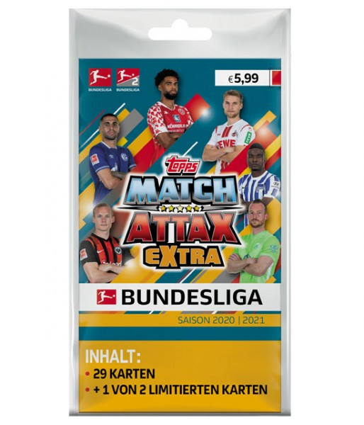 "Topps Match Attax Bundesliga 2020/21 ""Extra"" - Blister"