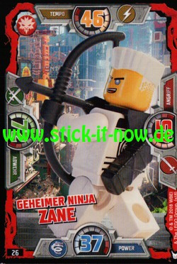 Lego Ninjago Trading Cards - SERIE 3 (2018) - Nr. 26