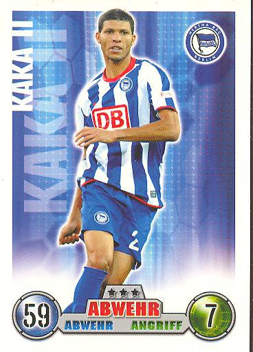 Kaka II - Match Attax 08/09 - Hertha BSC Berlin