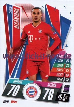 Match Attax Champions League 2020/21 - Nr. BAY 12