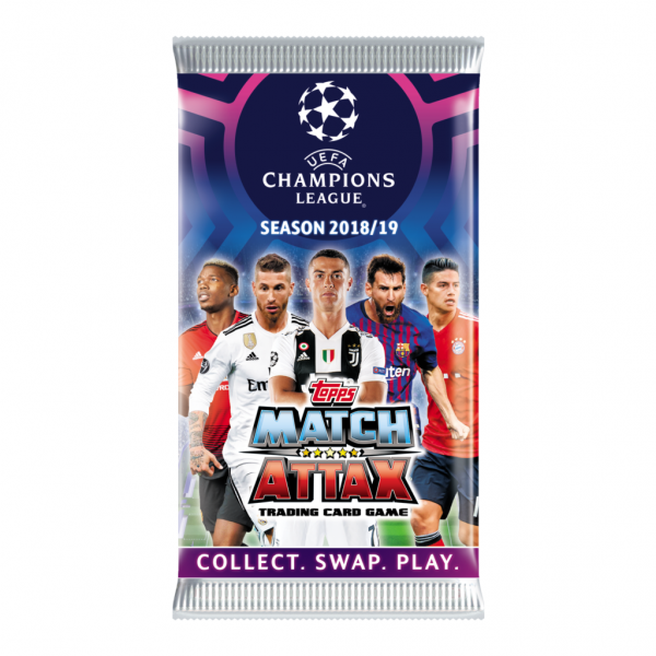 Match Attax Champions League 18/19 - Booster (6 Karten)
