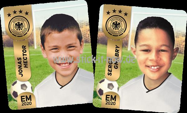 "Ferrero Team Sticker EM 2020 - ""Kids"" Nr. 4 (Hector/Gnabry)"