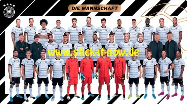 """Ferrero Team Sticker EM 2020 (2021) - """"Mannschaft"""" (Die Mannschaft)"""