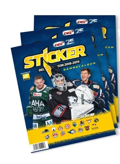"DEL - Deutsche Eishockey Liga 18/19 ""Sticker"" - Stickeralbum"