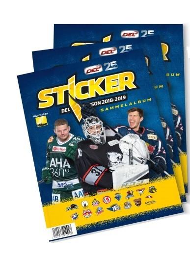 """DEL - Deutsche Eishockey Liga 18/19 """"Sticker"""" - Stickeralbum"""