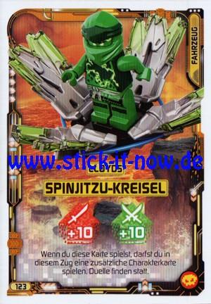 "Lego Ninjago Trading Cards - SERIE 5 ""Next Level"" (2020) - Nr. 123"