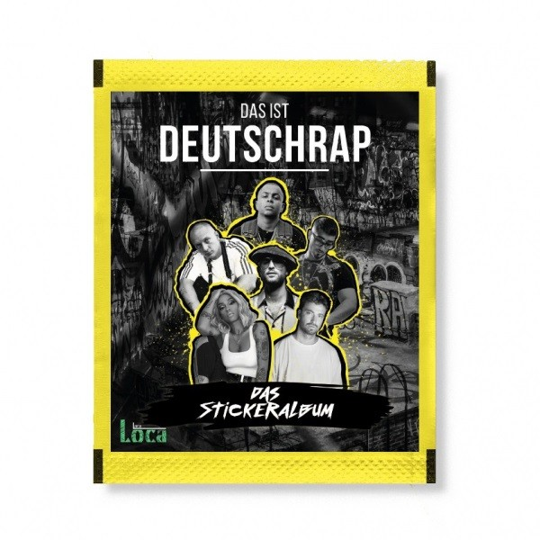 Das ist Deutschrap (2019) - Stickertüte (5 Sticker)