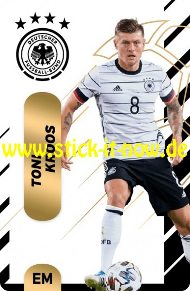 "Ferrero Team Sticker EM 2020 (2021) - ""Action"" Nr. 10 ( Kroos )"