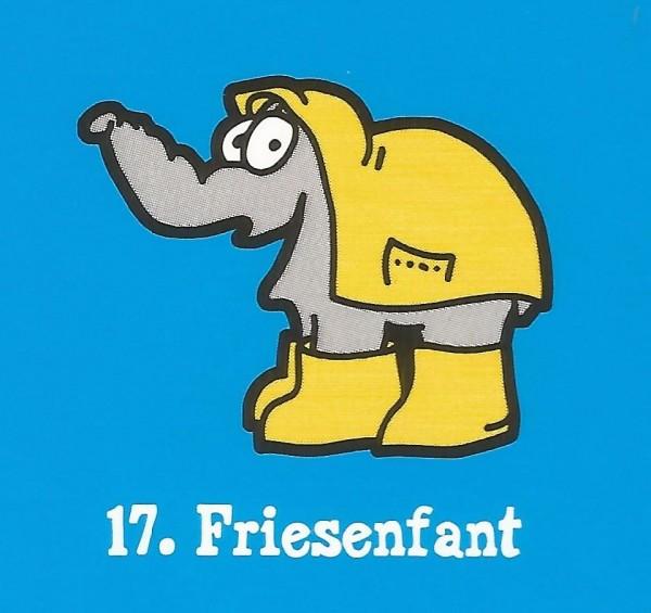 Edeka Ottifanten (2020) - Nr. 17 Friesenfant