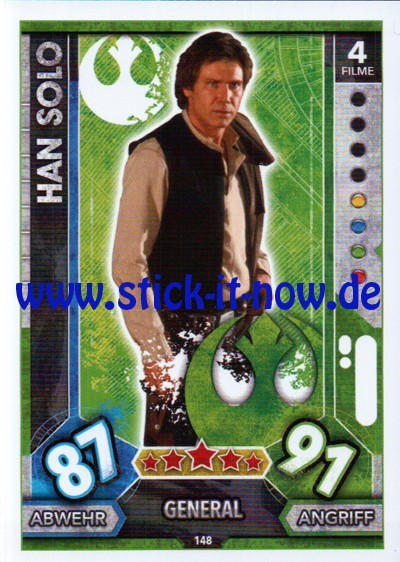Topps Star Wars FORCE ATTAX UNIVERSE (2017) - Nr. 148