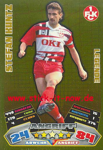 Match Attax 12/13 EXTRA - Stefan Kuntz - 1. FC K'lautern - LEGENDE - Nr. 510